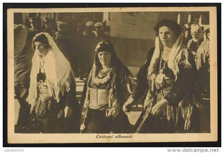 Shkodra, Northern Albanian women's costumes