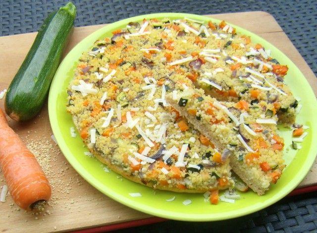 Tortino di verdure e cous cous