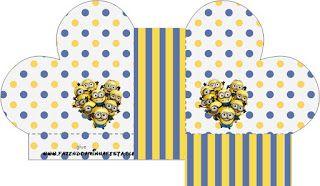 Minions (Meu Malvado Favorito 2) – Kit Completo com molduras para convites, rótulos para guloseimas, lembrancinhas e imagens! |Fazendo a Nossa Festa
