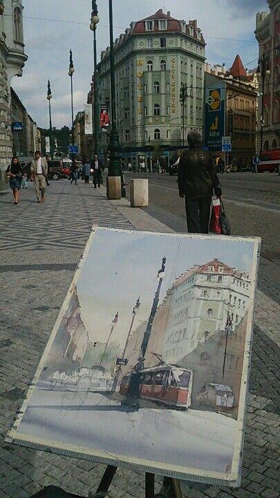 Tram at Prague