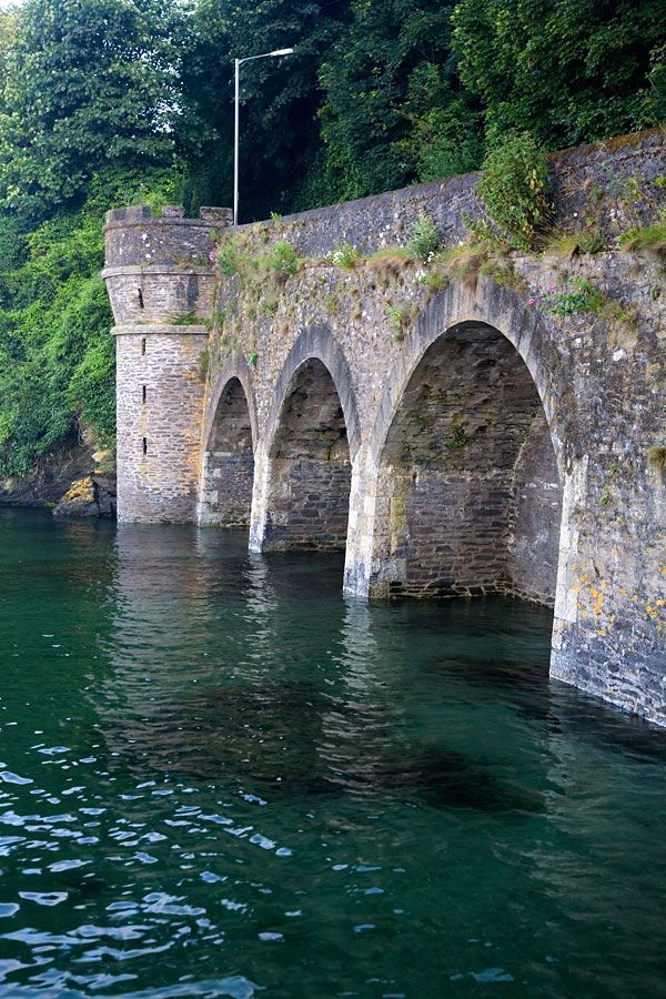 HANNAFORDE BRIDGE: West Looe, Cornwall ✫ღ⊰n                                                                                                                                                      More