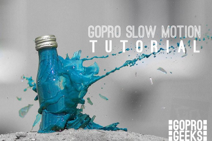Learn how to set up your camera, capture footage, and edit it with GoPro Studio to create a slow motion video clip.