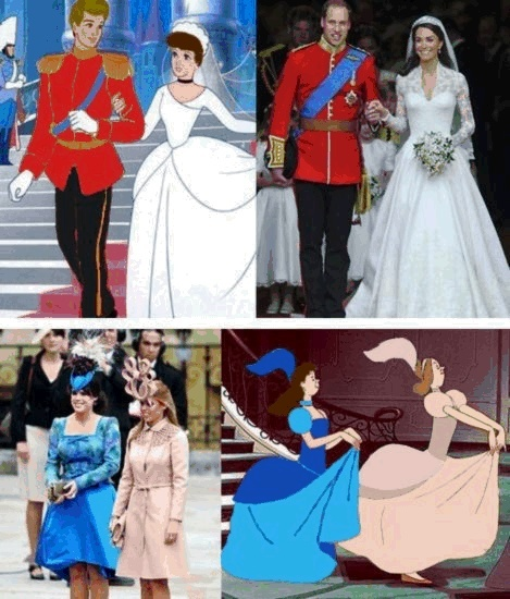 Disney conspiracy or ironic ... kinda funny to be honest: Giggle, Royal Weddings, Funny Stuff, Funnies, Things, Disney, Fairytale