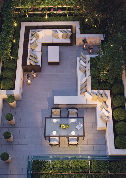 17 best ideas about terrace garden on pinterest terrace for Terrace seating ideas