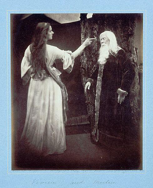 Julia Margaret Cameron - Vivien and Merlin.jpg