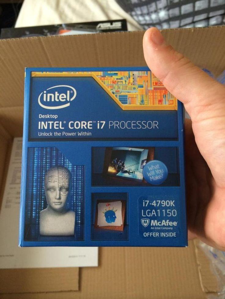 i-7 4790k 8-Core Intel i7 4th Generation Desktop Processor CPU - Top Line #Intel