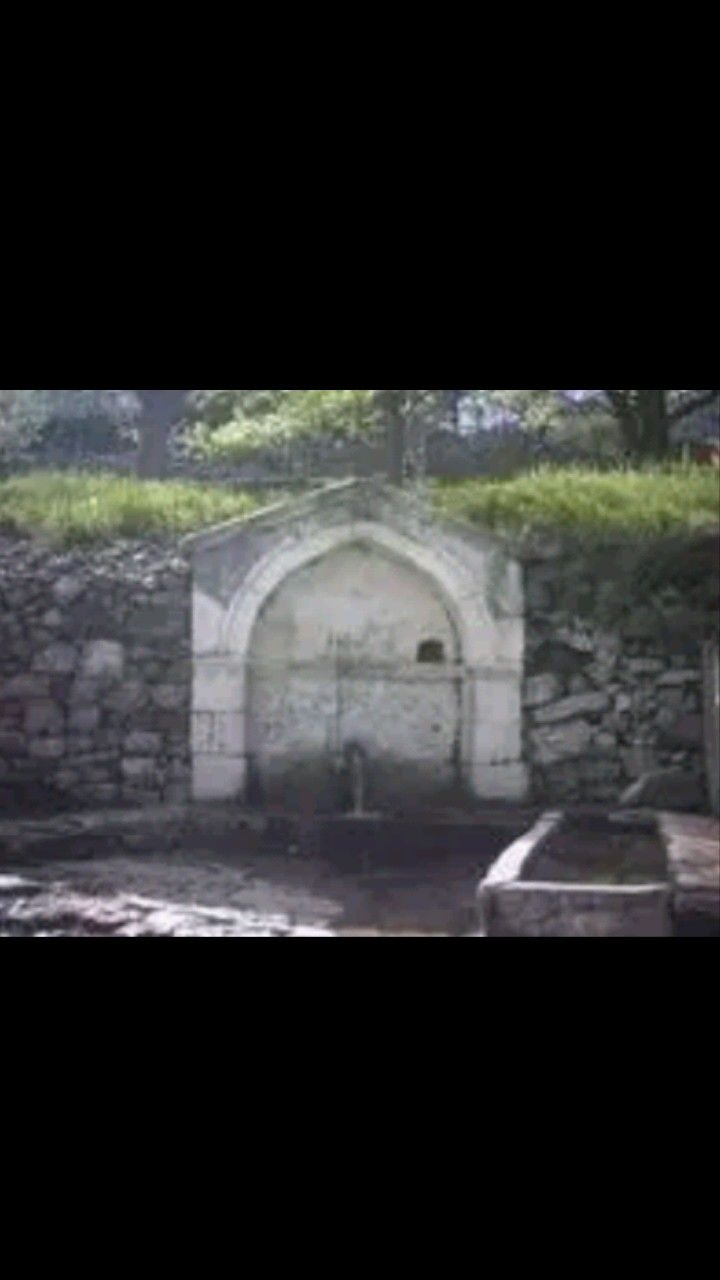 Hayrat fountain-Constructive: Aydın Family-Year built: Unknown-Büyükçit village-Torul-Gümüşhane