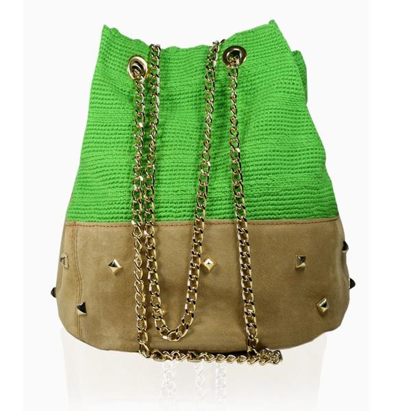 Shoulder Bag Plain Tack Mint Green. Stella Rittwagen Collection. 175€ www.dwappo.com