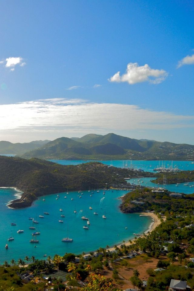 English Harbour, Antigua - This beautiful harbour in Antigua is one of the very best. There are several great beaches, boating options, and so much more. TravelingWarrior.com knows you will live your time in Antigua. (https://www.facebook.com/TravelingWarrior) #Antigua #attractions