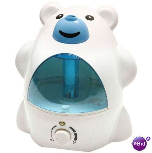 POLAR BEAR 2-LITER ULTRA-SONIC COOL MIST HUMIDIFIER SILENT KIDS/INFANT NURSERY