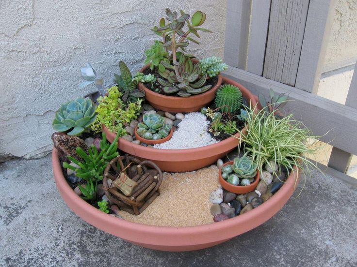 Cool Miniature Gardens Container Garden Ideas