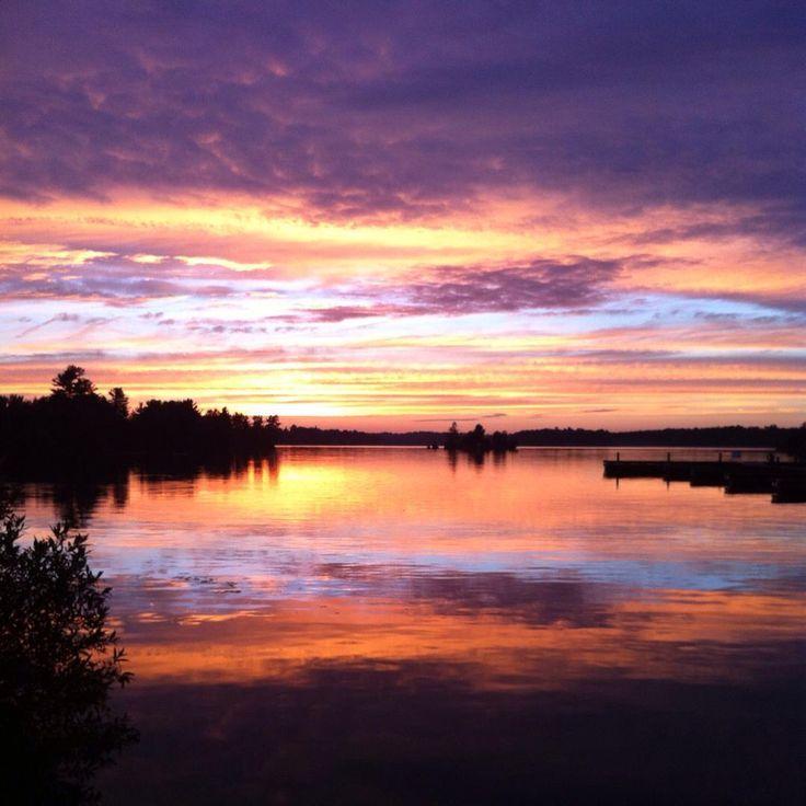 Probably my favourite sunset so far... Muskoka, ON