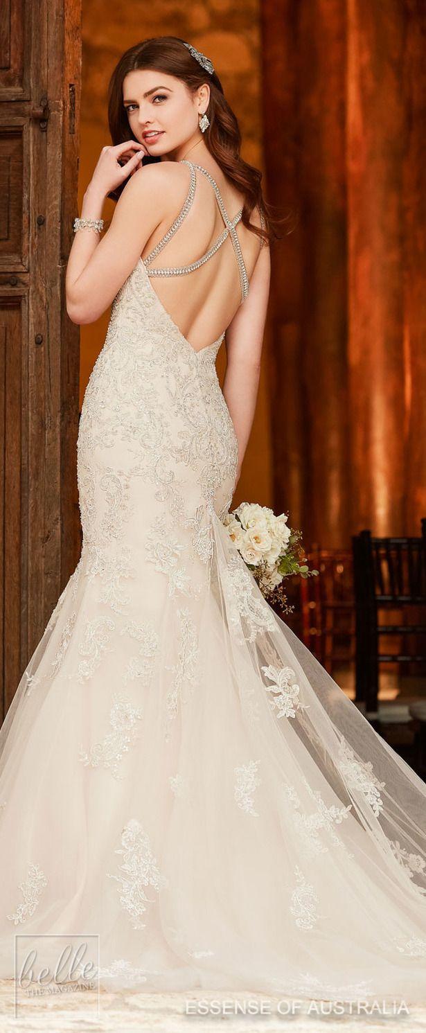 Essense Of Australia Fall 2017 Wedding Dress Collection Essense Of Australia Wedding Dresses Wedding Dresses Short Wedding Dress [ 1491 x 615 Pixel ]