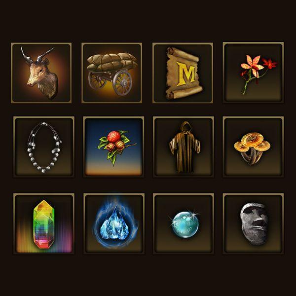 Game Icon by sangwoo kim, via Behance