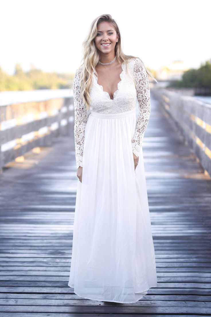 $65 | Saved by the Dress  Lace sleeved dress