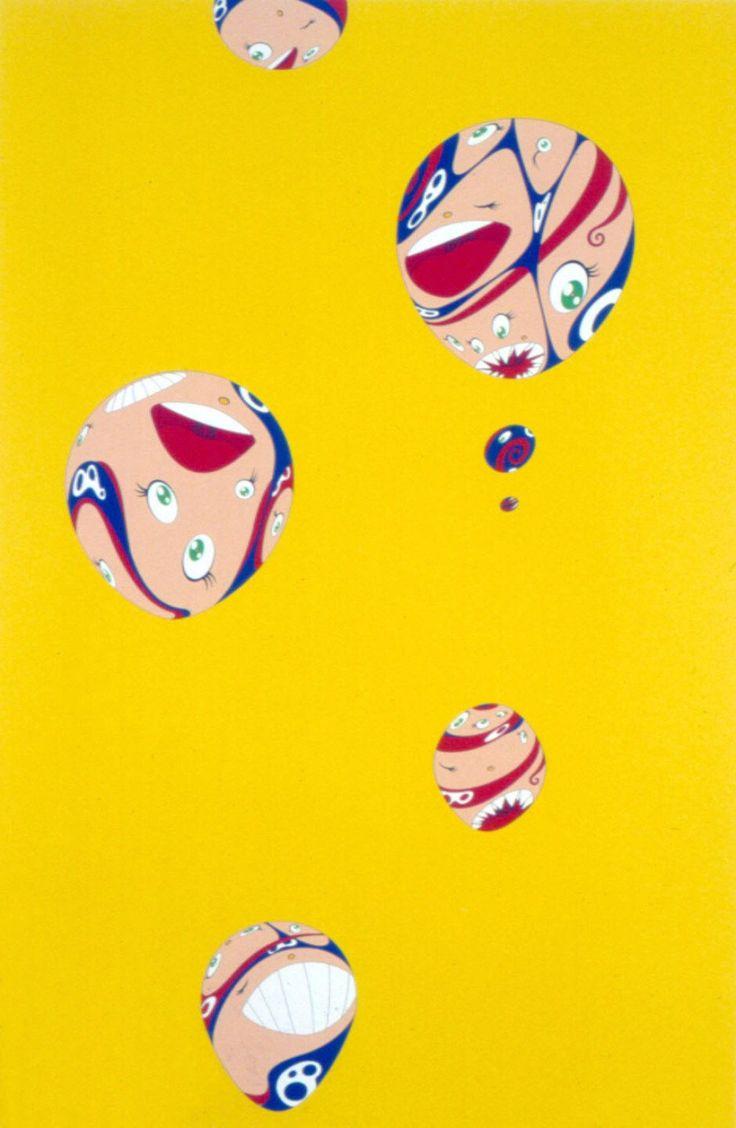 Takashi murakami sun flowers and contemporary art uniqlog - Pukapuka By Takashi Murakami