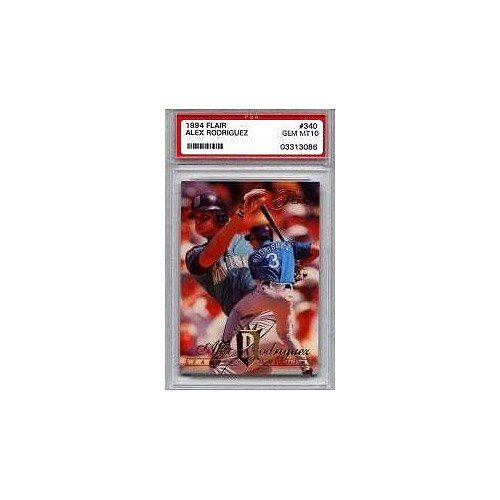 1994 Alex Rodriguez Flair Psa 10 (Rc - Rookie Card) - http://www.rekomande.com/1994-alex-rodriguez-flair-psa-10-rc-rookie-card/