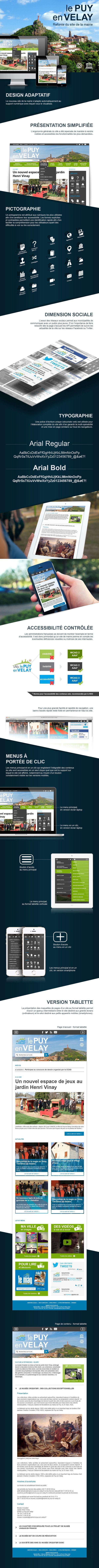 Refonte - Mairie Le Puy-en-Velay by Klément Grisel, via Behance