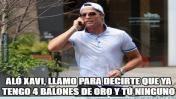 Cristiano Ronaldo: graciosos memes de su cuarto Balón de Oro. Dic 2016.