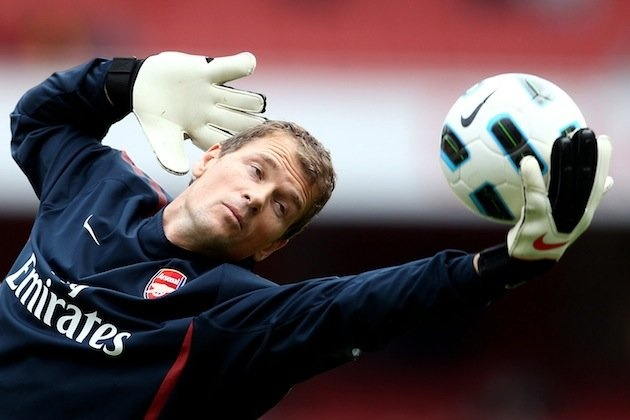 Jens Lehmann considers playing for Germany's blind football team at 2016 Paralympics (Getty) #paralympics #soccer #blind #inspiring