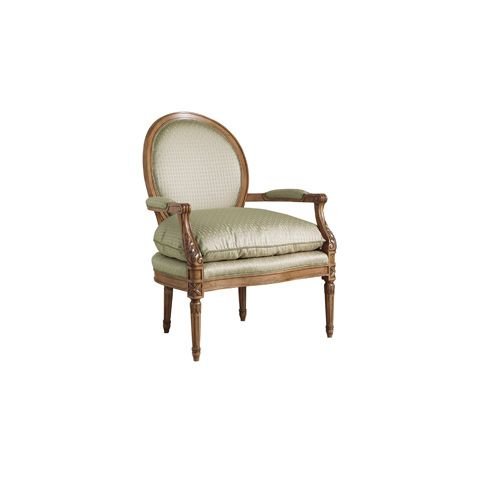Henredon - Aileen Oval Back Accent Chair - H0756