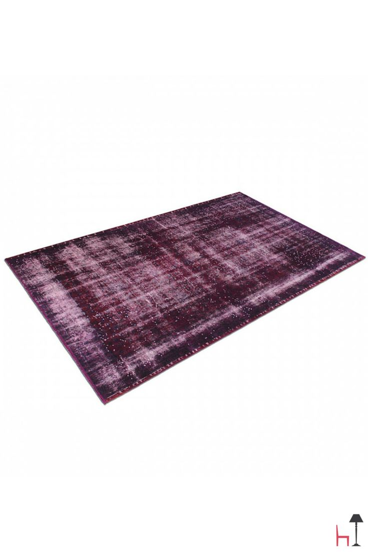 Looking for the perfect rug? Vintage burgundy rug  by Carpet Edition is the right one for you!