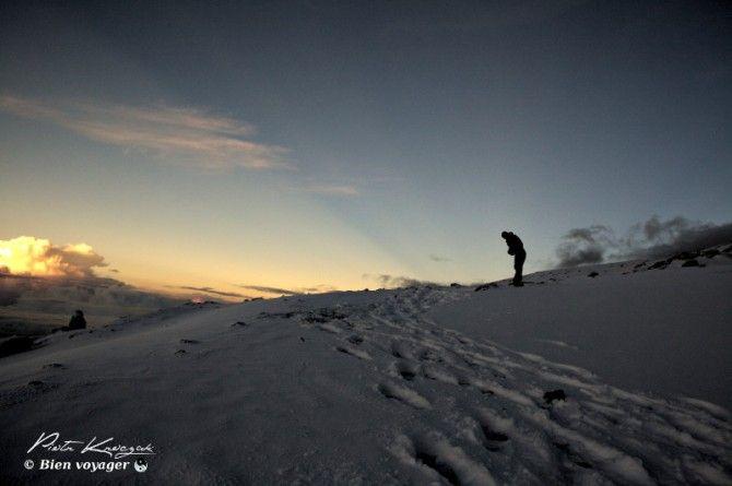 Kilimandjaro ascension