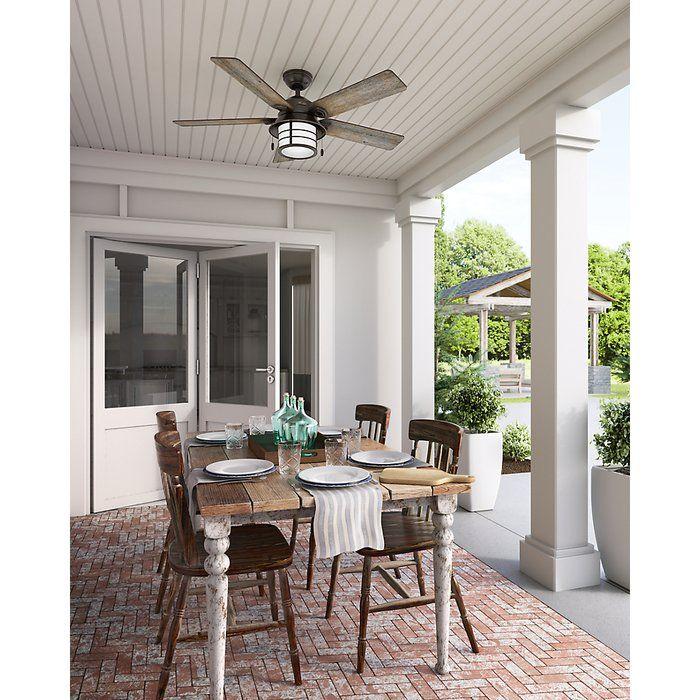 Best 25 outdoor ceiling fans ideas on pinterest outdoor fans 54 key biscayne prestige 5 blade outdoor ceiling fan with light aloadofball Gallery
