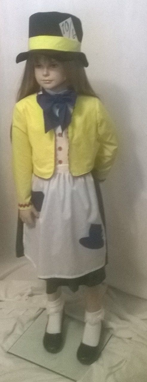 Mad Hatter Costume by GirlsDolls on Etsy