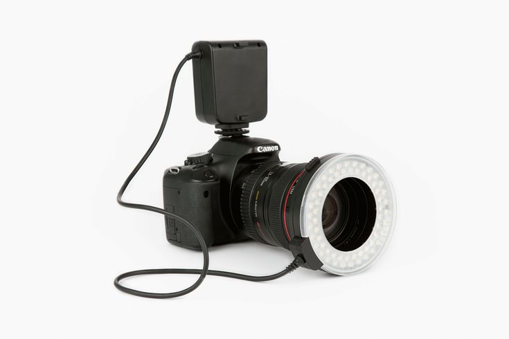 Oh! Wow. Ring Light | $100 (canon and Nikon mounts available)