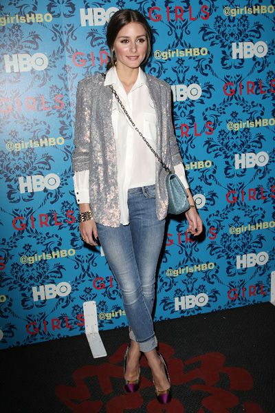 Olivia Palermo: sequined blazer