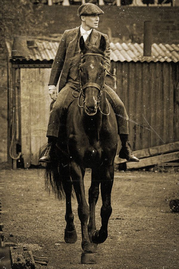 I love a hot man on a horse...Cillian Murphy in Peaky Blinders