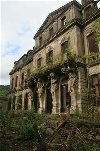 The Castle Saulxures , said Versailles Vosges or the little Versailles. France