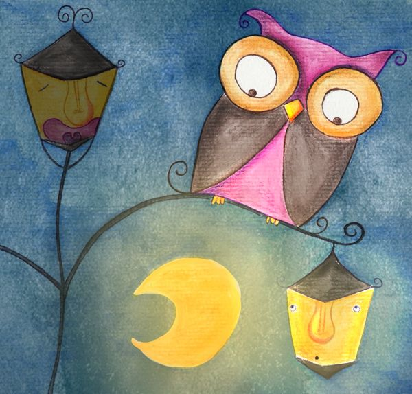 Cuento a la vista: The sleepy lamppost