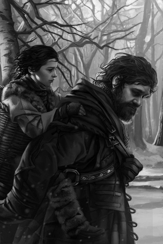 Bran e Hodor: A Game of Thrones 1996 Edition