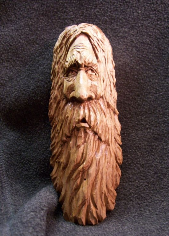 Spirit face butternut wood carvings pinterest
