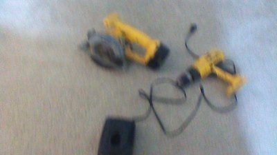 DIY  Tools 14.4 Volt Dewalt Drill