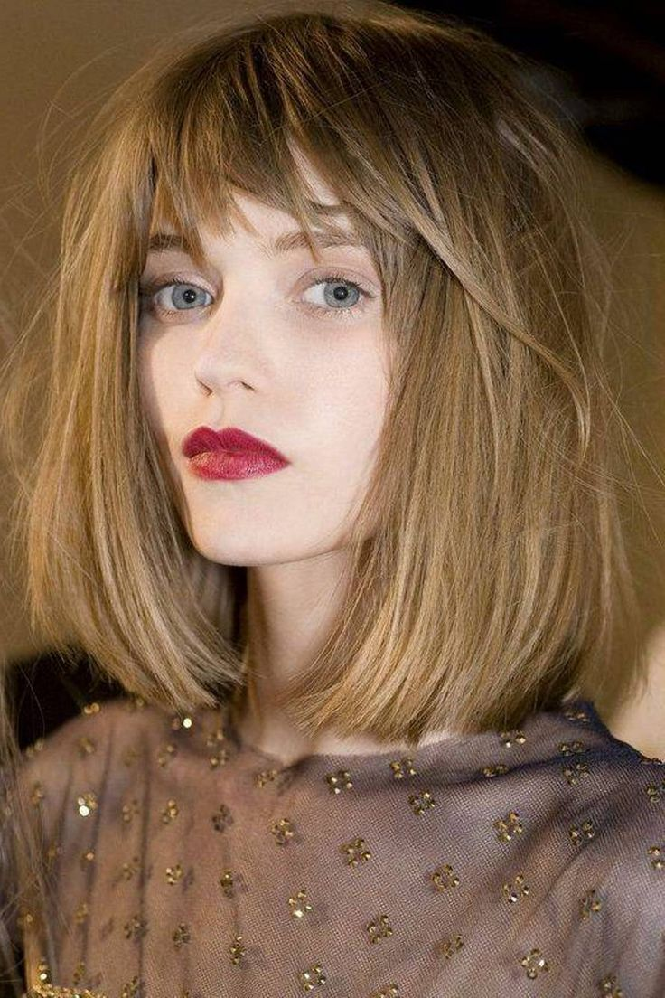 shoulder length bobs ideas