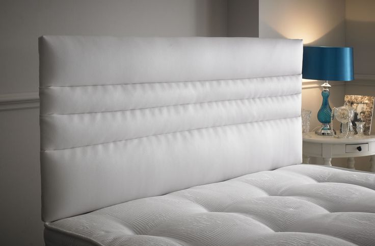 The Lima is a gorgeous headboard with different sized horizontal rows on it. The headboard  provides a comfy, relaxing time in your bed and the leather makes it feel really smooth. This headboard is available in all sizes and is available in leather. http://www.chicconcept.co.uk/5146-lima-5055157622915.html