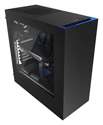 NZXT Source 340 Boitier PC Noir/Bleu #NZXT #Source #Boitier #Noir/Bleu