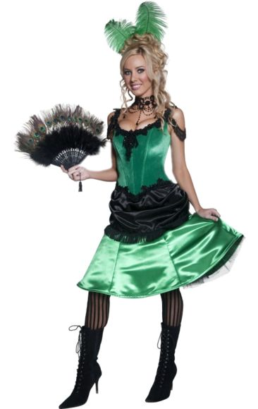 Western Saloon Girl Costume | Jokers Masquerade
