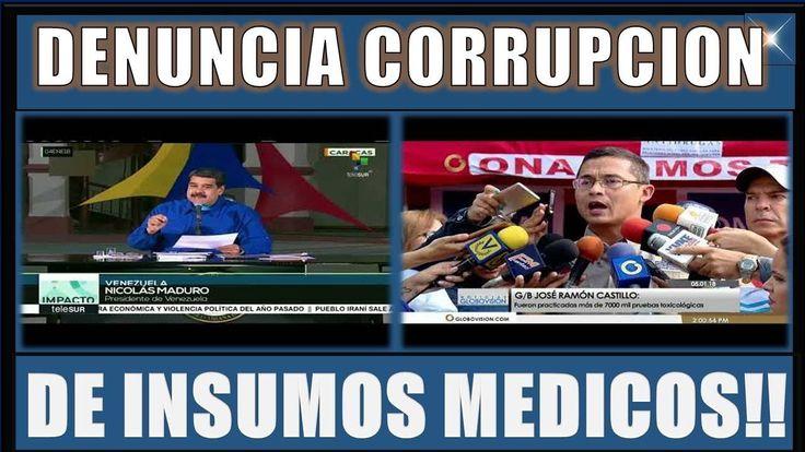 DENUNCIA CORRUPCIÓN de INSUMOS MÉDICOS en ZULIA||NOTICIAS DE HOY VENEZUELA 06 ENERO 2018