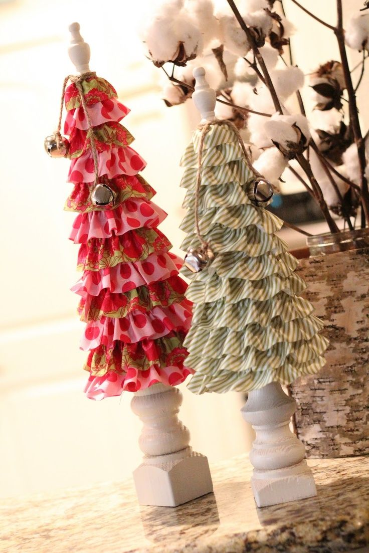 ruffled christmas tree  | Ruffle Christmas Trees!! | COOL CHRISTMAS