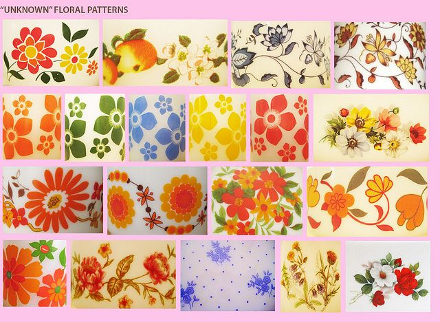 Arcopal Floral patterns guide