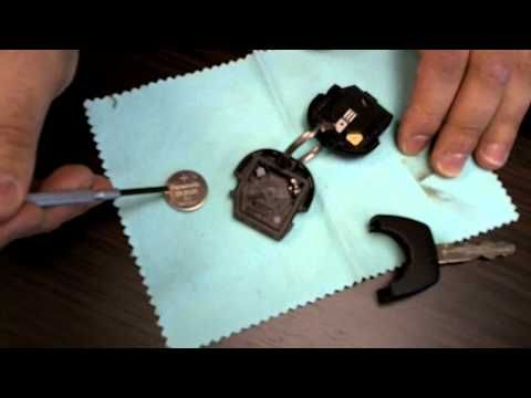 How To Change A Battery In A Nissan Remote Key 02 Car