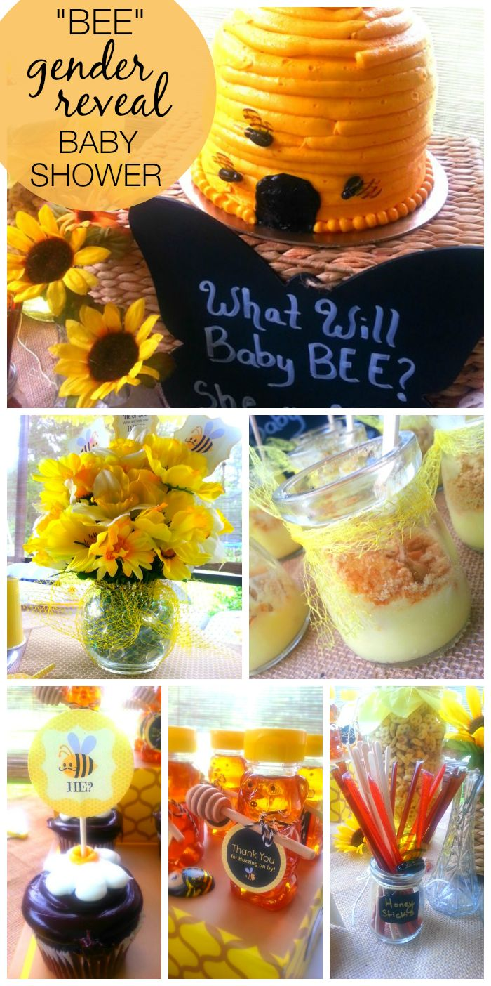 "Bee / Gender Reveal ""He or She; What will baby BEE?"""
