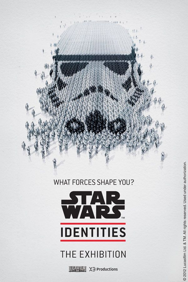 Stormtrooper - New Star Wars Identities Exhibit Portraits - from the Official Star Wars Blog: Exhibitions Posters, Storms Troopers, Stars War Art, Star Wars, Stars War Posters, Identity Exhibitions, Stormtroopers, War Identity, Starwars