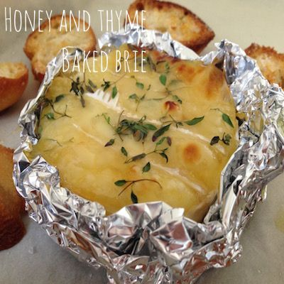 Honey and Thyme Baked Brie Recipe | Omnom Cheese Making | Sydney | Australia
