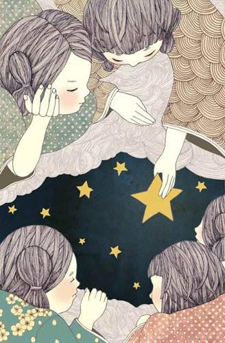Yoko Furusho, a Japanese illustrator based in New York