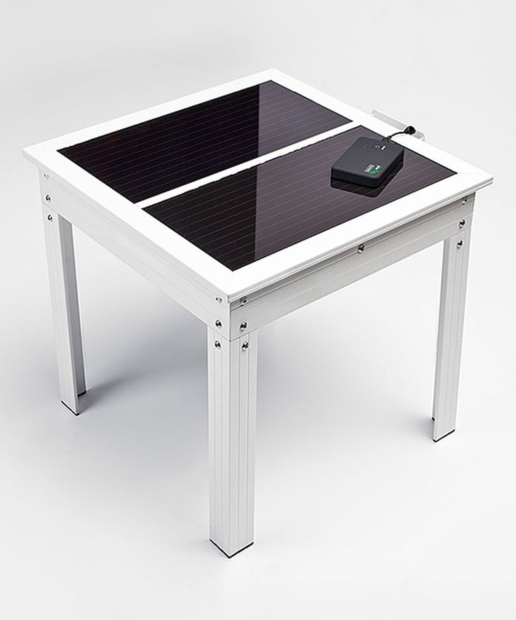 Look at this #zulilyfind! White Solar-Powered Patio Table & 5,000-mAh Power Bank Charger by Nature Power Products #zulilyfinds